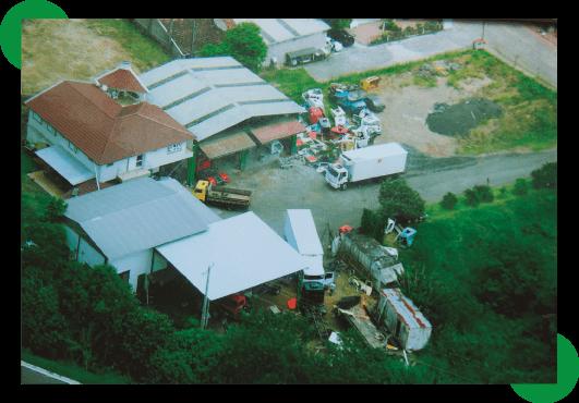 Vista aérea da Topvale
